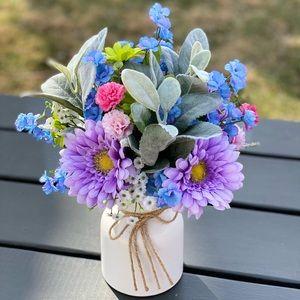 Artifical Floral Spring Arrangement💐